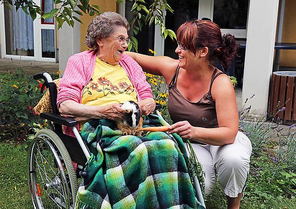 Einzug ins Pflegeheim