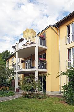 Das Pflegeheim der AWO in Vieselbach